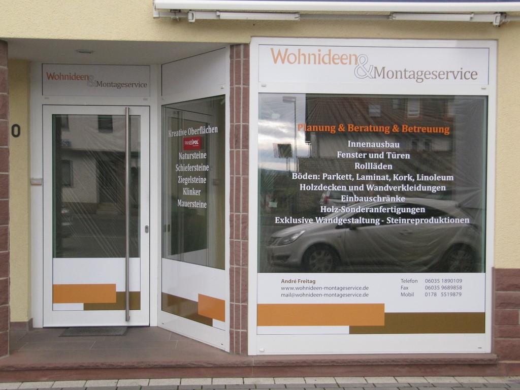 Wohnideen&Montageservice - Kontakt